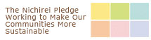The Nichirei Pledge Working to Make Our Communities More Sustainable